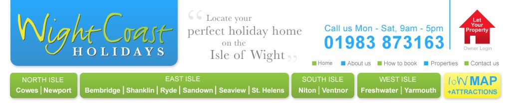 Isle of Wight Holidays Self Catering Holiday Rentals IOW